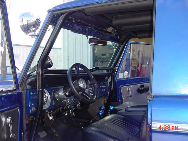 1966 1977 Ford Bronco Half Cab Roll Bar Br14