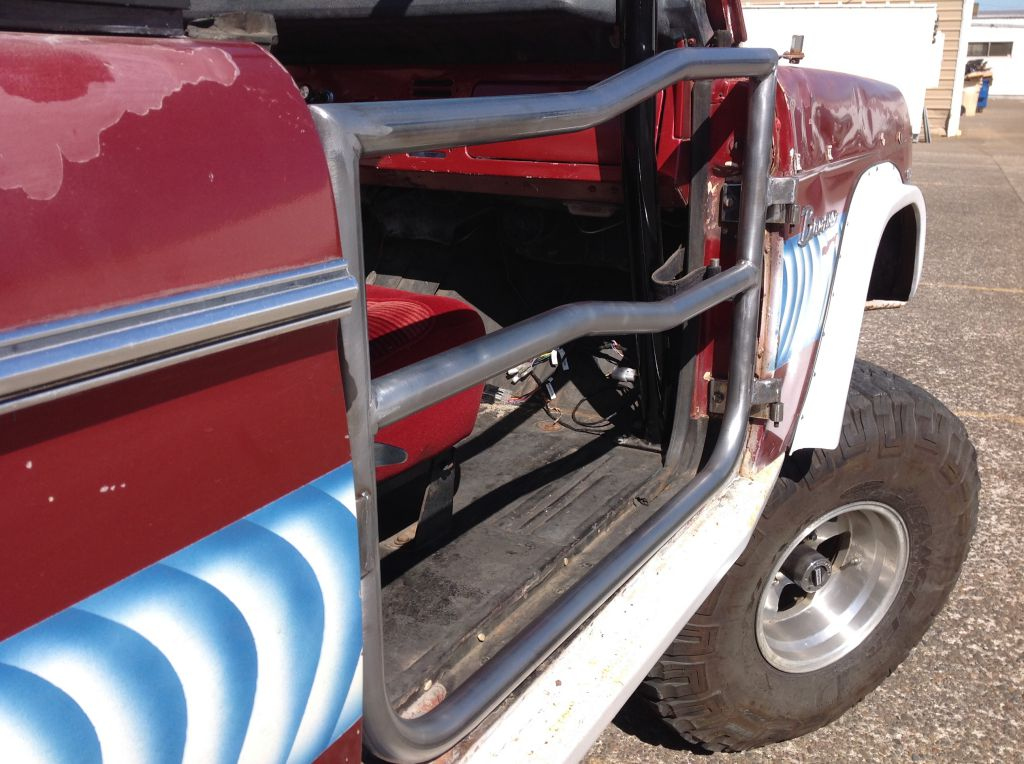 & 1966-1977 Ford Bronco Tube Door #TD1