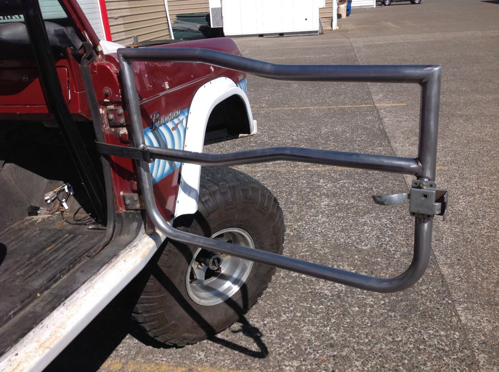& 1966-1977 Ford Bronco Tube Door #TD1