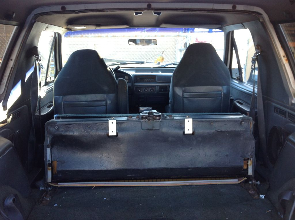 1978 1996 Ford Bronco Rear Fully Welded 4 Point Roll Cage W Bolt In Legs Br9
