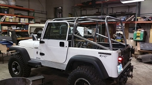 1987-1995 Jeep Wrangler 6-Point Roll Cage #JC1