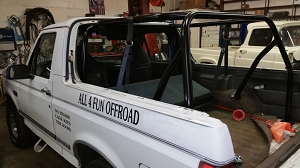 1978-1996 Ford Bronco - 6 Point Roll Cage #BR12
