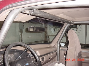 1967-1996 Chevy Blazer - 4 Point Roll Cage with Front Cage Kit #BL2