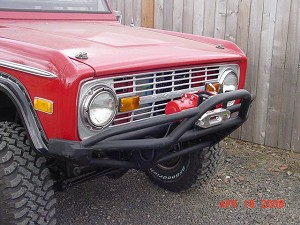1966 - 1977 Early Bronco - Front Prerunner Bumper #BR32