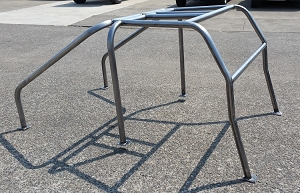 1966-1977 Ford Bronco Racer Back Roll Cage #BR5