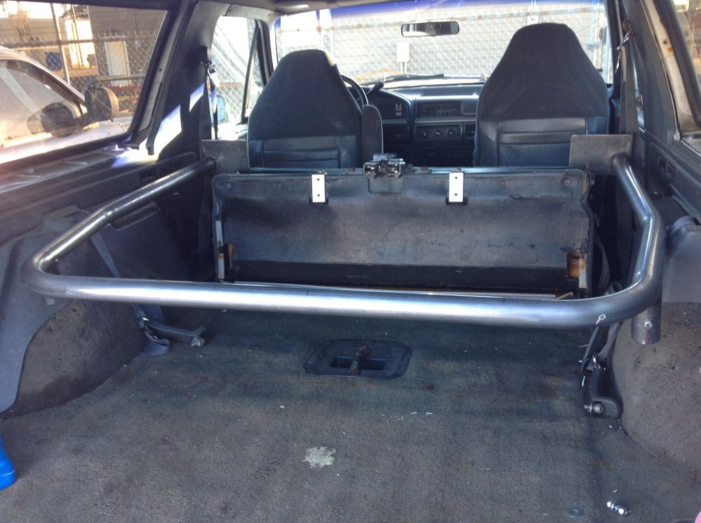 1978-1996 Ford Bronco - Rear Fully Welded 4 Point Roll ...
