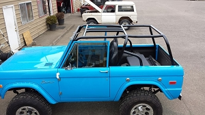 1966-1977 Ford Bronco Tallman Family Cage Kit #BR7