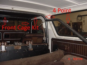 1978-1996 Ford Bronco - Front Cage Kit #BR13
