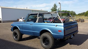 1967-1996 Chevy Blazer - 8 Point Roll Cage #BL4